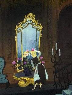 As an artist working for Disney, Mary Blair brought many Disney classics to life by providing rich concept art at the inception of films such as Cinderella, Peter Pan and Alice in Wonderland. Draw Disney, Ariel Disney, Frozen Disney, Disney Dream, Disney And Dreamworks, Disney Love, Cinderella Disney, Cinderella Sketch, Disney Princess