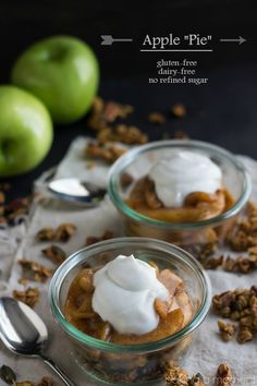 So delicious I couldn't believe it was gluten-free! And dairy-free too! The best granola recipe ever for fall, and everything's sweetened with maple syrup so there's no refined sugar. It's just like apple pie!