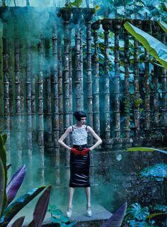 Grace Hartzel by Mikael Jansson  for Vogue US April 2016