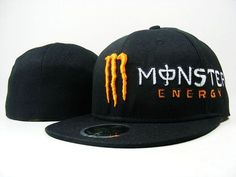 Monster Energy Cap Orange M Logo  US$8 - www.picknewera.com