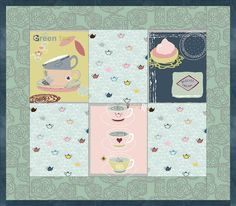 Five o'clock Tea by STOF Fabrics, Quilt