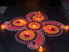 Rangoli Design Ideas & Images For Diwali & Happy New Year Here you will get Happy Deepavali Rangoli Design idea to draw. Happy Diwali Rangoli, Easy Rangoli Designs Diwali, New Year Rangoli, Indian Rangoli Designs, Rangoli Designs Latest, Simple Rangoli Designs Images, Rangoli Designs Flower, Free Hand Rangoli Design, Rangoli Border Designs
