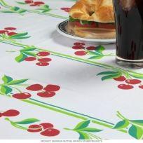 Cherries Retro Square Tablecloth