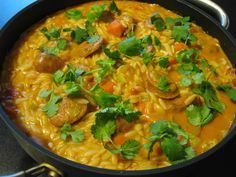 Orzo Orzo Pasta Recipes, Good Food, Yummy Food, Pasta Noodles, Soups And Stews, Thai Red Curry, Yummy Recipes, Cake, Ethnic Recipes