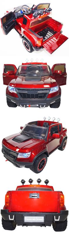 Toy Vehicles 145946: 2017 Chevrolet Style 12V Battery Powered Electric Ride On Kids Toy Car Remote Rc -> BUY IT NOW ONLY: $529 on eBay!