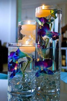Floating wedding candle centerpiece that we all want for 2016 Valentine's day - Fashion Blog