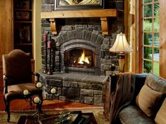 Furniture Beautiful Stone Fireplaces Innovative Inspiration In