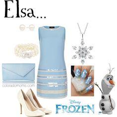 """""""Elsa - Disney's Frozen"""" by coloradomom on Polyvore"""