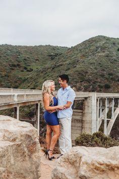 Intimate wedding elopement Big Sur Bixby Bridge Lorinda K. Photography Bixby Bridge, Pebble Beach, Big Sur, Candid, United States, Portrait, Couple Photos, Photography, Wedding