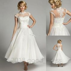 Shop our best value Tea Length White Wedding Dress on AliExpress. Check out more Tea Length White Wedding Dress items in Weddings & Events, Mother & Kids! And don't miss out on limited deals on Tea Length White Wedding Dress! Cheap Bridal Dresses, 2015 Wedding Dresses, Cheap Wedding Dress, Bridal Gowns, Wedding Gowns, Lace Wedding, Bride Dresses, Dresses 2013, Cheap Dress