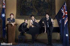5 Seconds of Summer #Billboard #Photoshoot #MichaelClifford #LukeHemmings #AshtonIrwin #CalumHood