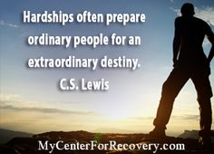 Hardships often prepare ordinary people for an extraordinary destiny.  #FloridaSavesLives