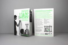 LOA+DS Education Workshops Guide A2Poster/Mailer by Greig Anderson, via Behance