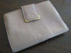 Princess Gardner beige CHEVRON 1960s wallet New old stock. etsy shop: VintageAngeline