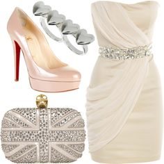 white, created by bethany2k14 on Polyvore