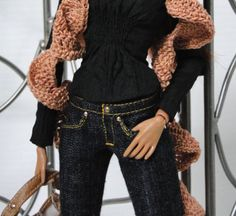 HSD Signature Jeans  fit 12 Fashion Royalty by HazelStreetDezigns, $30.00
