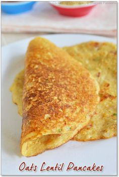 oats lentil pancakes by vsharmilee Baby Food Recipes, Snack Recipes, Cooking Recipes, Ragi Recipes, Oats Recipes Indian, Indian Snacks, Ayurveda, Oats Dosa, Indian Breakfast