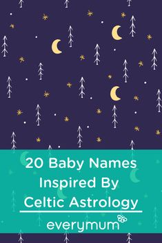 The Celtic system of astrology lends itself to some truly unique baby names with beautiful meanings. Here are 20 of our favourites. names 2019 names classic names irish names italian names southern Celtic Baby Names, Irish Baby Names, Baby Girl Names, Celtic Astrology, Name Astrology, Nursery Name Decor, Nursery Letters, Most Unique Baby Names, Baby Nanes