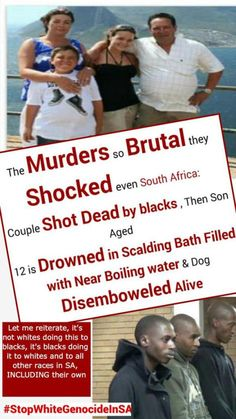 Nine gruesome farm attacks that shocked South Africans New Africa, South Africa, Family Images, People Of Interest, Know The Truth, African History, Family Dogs, Black Power, Food For Thought