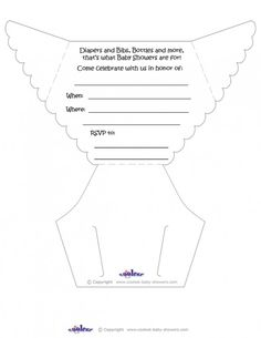 Baby Shower Diaper Invitations Template Website Has Lots Of