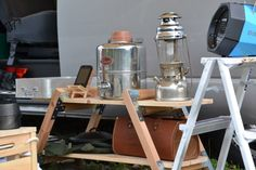 キャンプ キャンプ道具 棚 自作 DIY