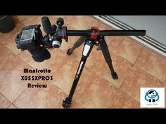 Manfrotto 055XPRO 3 Review - The Youtuber's Tripod - YouTube
