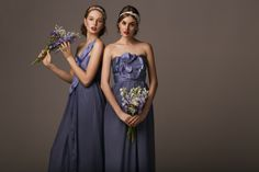 Bridesmaids dresses by Anna Campbell    Photo: Lana Ivanova, Styling: Sierra Ramke     #bridesmaids #wedding #dresses