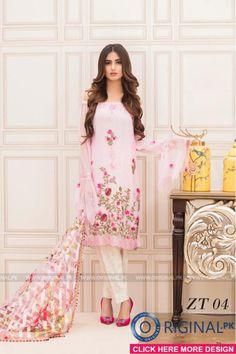Veena Durrani ZT-04 Kurti 2017 Volume 5 #veenadurrani #veenadurranivol5 #veenadurrani2017 #womenfashion's #bridal #pakistanibridalwear #brideldresses #womendresses #womenfashion #womenclothes #ladiesfashion #indianfashion #ladiesclothes #fashion #style #fashion2017 #style2017 #pakistanifashion #pakistanfashion #pakistan Whatsapp:+923452355358 Website: www.original.pk