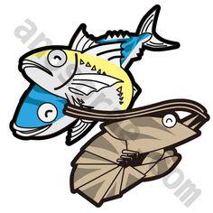 魚とエビ #cute #キュート #kawaii #かわいい #イラスト #illust #illustration #art #manga #draw #drawing #artworks #doodle #graphic #creative  [イラスト制作] http://anosorae.com/