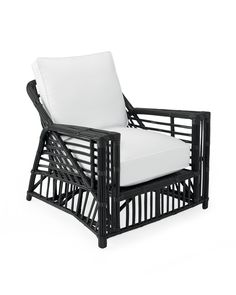 "35""W x 36.5""D x 32""H. We've always loved the sculptural curves and natural beauty of classic stick wicker styles from the early 20th century. We stayed true to the originals, wrapping sustainable rattan poles with numerous sticks of slender rattan to create these wonderfully angular frames. Seats and surfaces are meticulously handwoven for days to create beautiful hidden patterns, a design tradition that brings artistry to every piece."