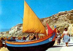 Nazare vela ao vento barcos Portugal, Terra, Portuguese, Boats, Sailing, Ships, Travel, Ideas, Cards