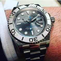 Rolex YachtMaster ____________________________________ Credit @dailywatchpic Tag…