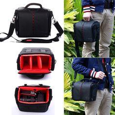 Camera Case Bag for Canon EOS 5D Mark III 5D Mark II 60D 6D 70D 7DM2 t5i t6i 760D 750D 700D 600D 100D 1300D 1200D Camera Cover