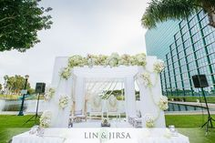 Day shot of the Mandap