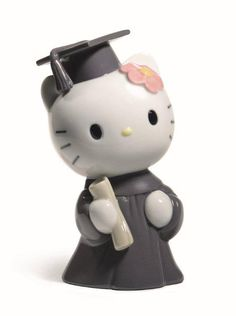 hello kitty porcelain graduate figurine by NAO