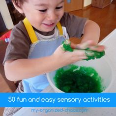 50 Fun And easy Sensory Activities