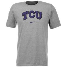 Nike Men's Texas Christian University Short Sleeve Classic Arch T-shirt