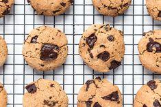 Raspberry Chocolate Chunk Cookies - DeliciouslyElla