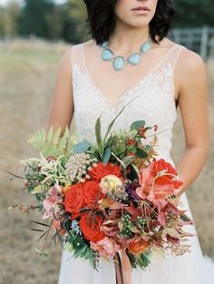 Wild west inspired | Photography: Rebecca Hollis Photography - rebeccahollis.com  Read More: http://www.stylemepretty.com/2015/01/16/colorful-wild-west-wedding-inspiration/