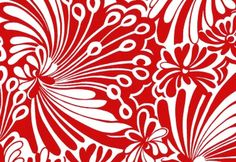 red & white surface design inspiration