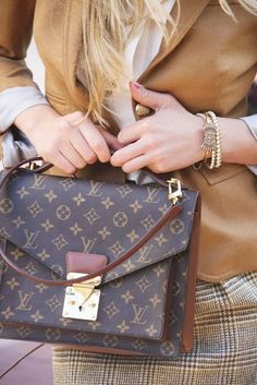 Louis Vuitton Fashion Inspiration | Hot fashion and you.  Great Fall and Winter combo.