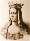 "Anne of Kiev Queen of France my 29th great grandmother - She wrote to her father that Francia was ""a barbarous country where the houses are gloomy, the churches ugly and the customs revolting."" Anna complained that the French could not write and read, and did not wash themselves. Anna of Kiev could write and read five languages, including Greek and Latin, while her husband Henry the First and his entire court could not write and read, and signed themselves with a cross."