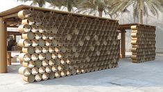 design souq pavilion by shigeru ban for abu dhabi art festival