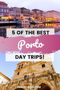 Looking for the best Porto Things to do when visiting the north of Portugal? Don't miss out on these 5 Stunning Porto Day trips for you to include in your perfect Porto Itinerary. All the top tips for your Porto Travel Plans!! #portotravel #portoitinerary #portoportugal Portugal Vacation, Portugal Travel Guide, Europe Travel Guide, Spain Travel, Travel Guides, Travel Destinations, European Travel Tips, European Vacation, Day Trips From Porto