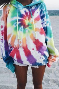 Best Photo Oversized Rainbow Tie Dye Hoodie Suggestions With this simple tank prime dress, I decided to employ a black color, a dime shade, and a bordeaux. Tie Dye Outfits, Cute Outfits, Tomboy Outfits, Flannel Outfits, Dress Outfits, Fashion Dresses, Rainbow Tie Dye Hoodie, Rainbow Tie Dye Shirt, Moda Tie Dye