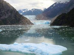 Alaska - Sawyer Glacier at Tracy Arm