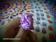Pink ring  Anillo tonos rosas