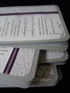 >DIY Wedding Invitations Phase 2 «