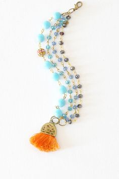 Multi Jewelry Set - Frinze Bohemian Jewelry - Tassel Jewelry - Beaded Jewelry - Gifts for Her - Girly Fashion - Free Shipping - Choose Yours  ❤