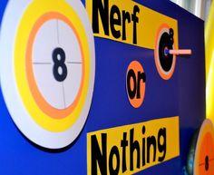 Nerf / Birthday / Party Photo: